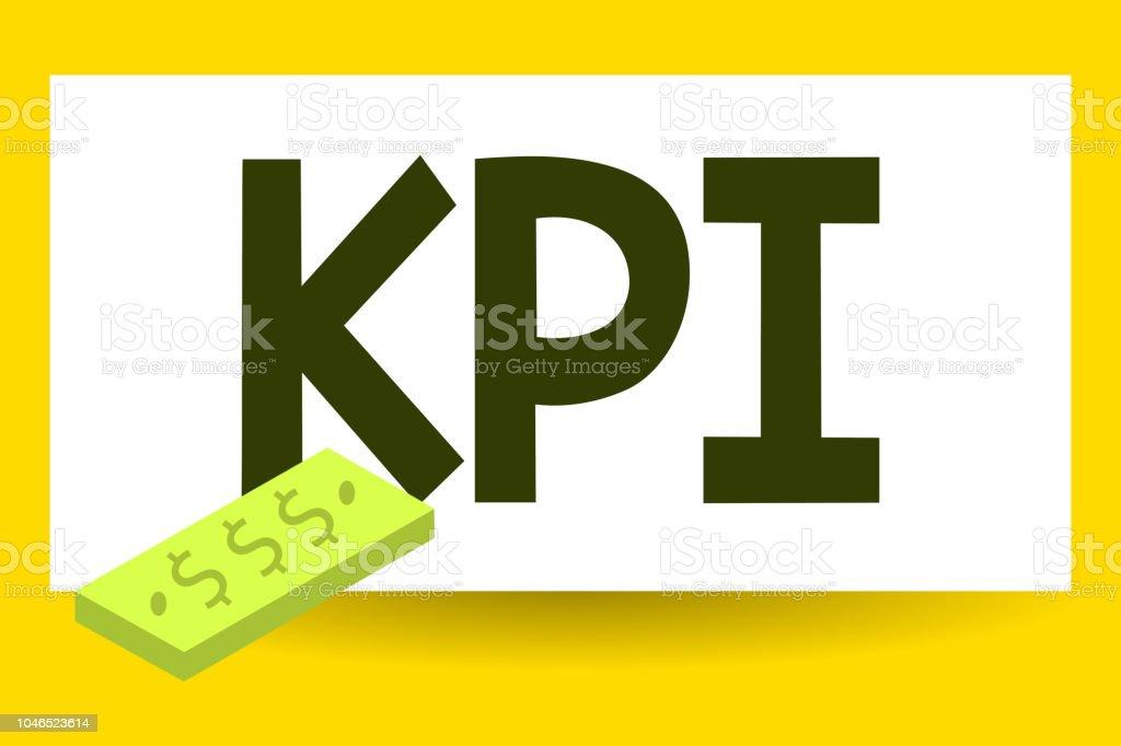 f212b53f2 Mostrando o Kpi é o bilhete. Foto de negócios apresentando avaliar o sucesso  de uma