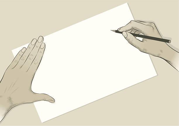 Écrire/dessin - Illustration vectorielle