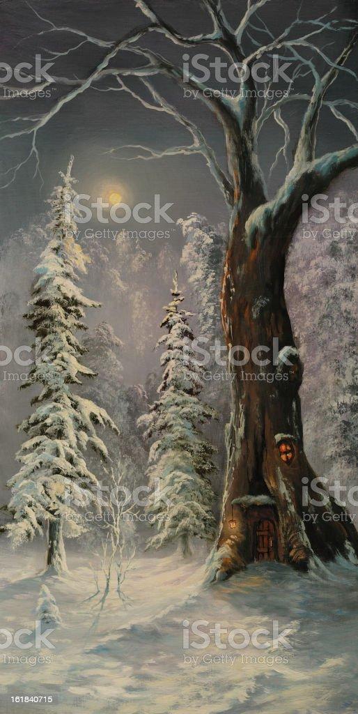 Xmas fairy tale royalty-free xmas fairy tale stock vector art & more images of art