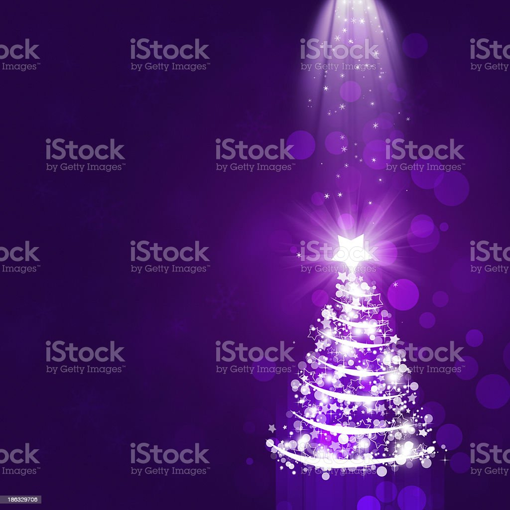Xmas Ray of Lights vector art illustration