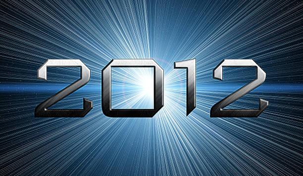 2012 year of the apocalypse 2012 year of the apocalypse blue background 2012 stock illustrations