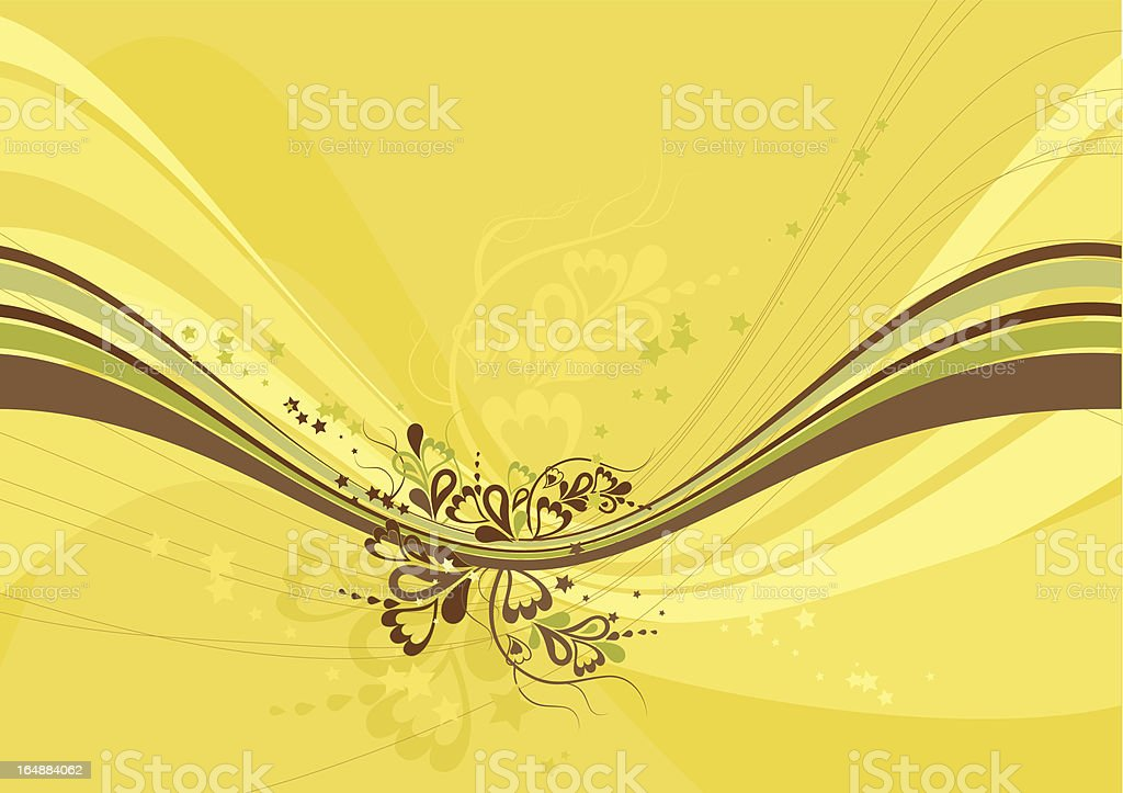 Yellow background royalty-free yellow background stock vector art & more images of abstract
