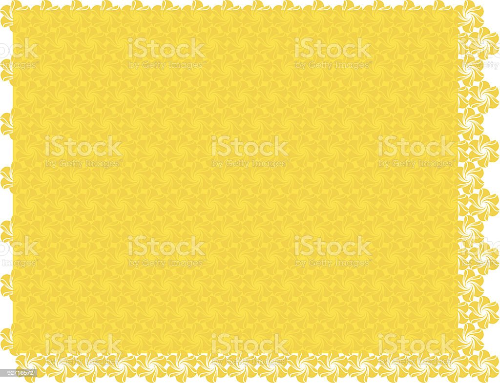 yellow background wallpaper pattern royalty-free stock vector art