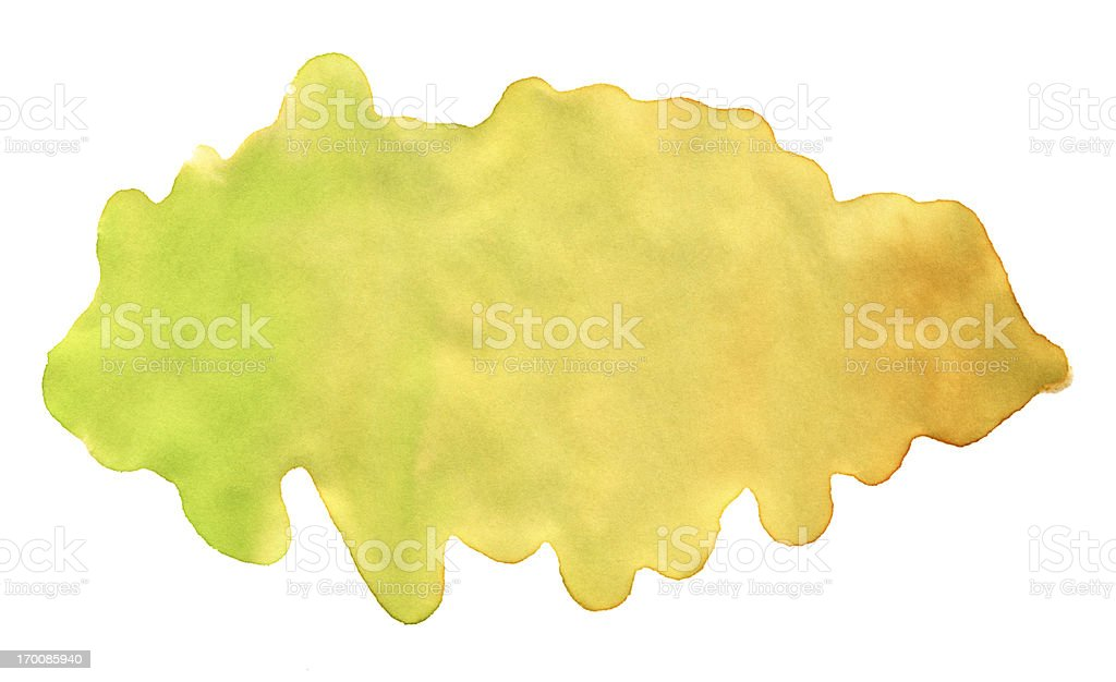 Yellow Green Watercolor Paint Texture royalty-free yellow green watercolor paint texture stock vector art & more images of abstract