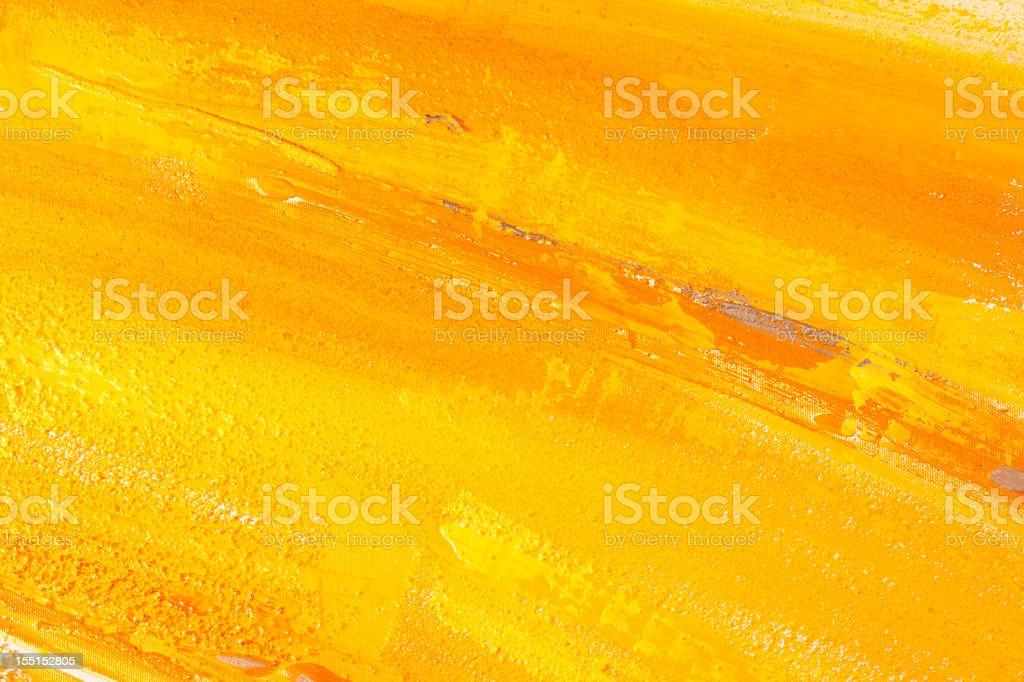 Yellow paint. royalty-free stock vector art