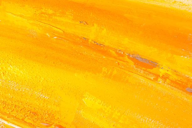 Yellow paint. vector art illustration