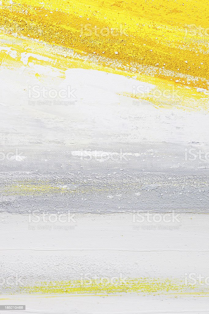 Yellow paint. royalty-free yellow paint stock vector art & more images of abstract