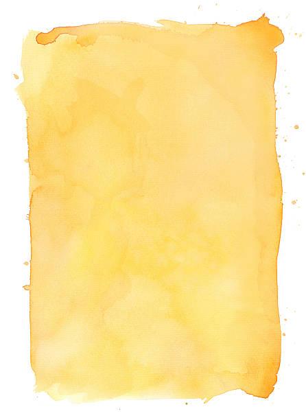 黄色 水彩 背景 ベクターアートイラスト