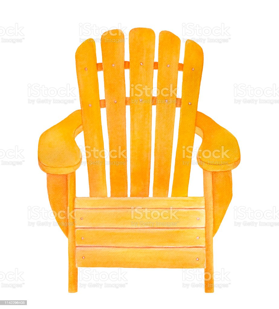 Astounding Yellow Wood Adirondack Chair Drawing Classic Stylish Design Beatyapartments Chair Design Images Beatyapartmentscom