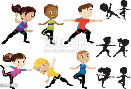istock Yoga Kids 165905994