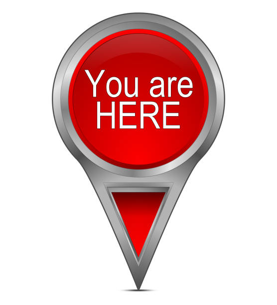 Best You Are Here Illustrations, Royalty-Free Vector ...