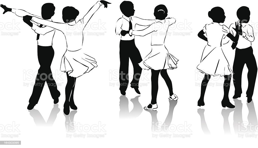 Young dancers royalty-free young dancers stock vector art & more images of 14-15 years