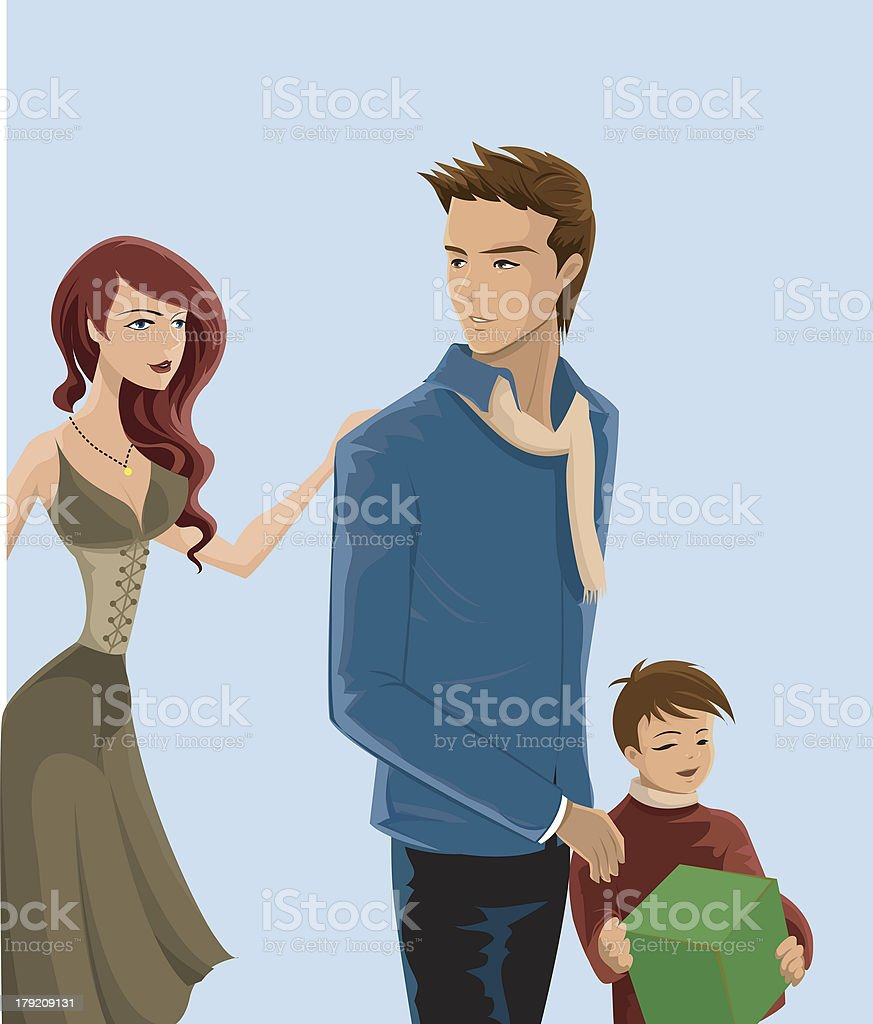 young family royalty-free young family stock vector art & more images of adult
