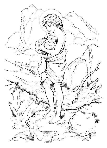 Lamb Of God Illustrations Illustrations Royalty Free Vector