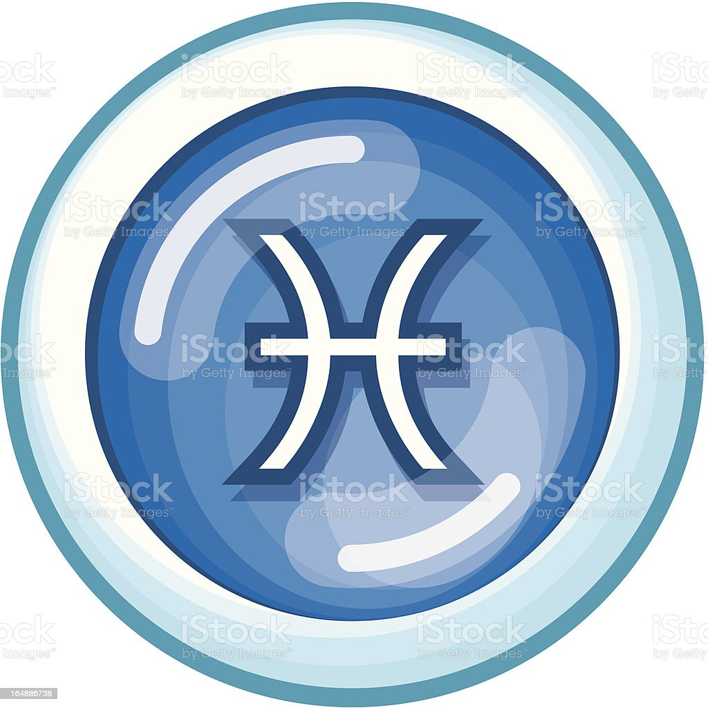 Zodiac Pisces (Vector Format) royalty-free zodiac pisces stock vector art & more images of astrology sign