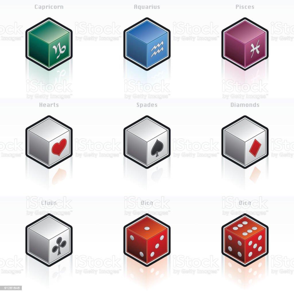 Zodiac Signs & Game Icon Set royalty-free zodiac signs game icon set stock vector art & more images of aquarius- zodiac sign