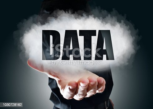 917307226istockphoto BUSINESMAN SHOWS DATA CLOUD (Click for more) 1030728162
