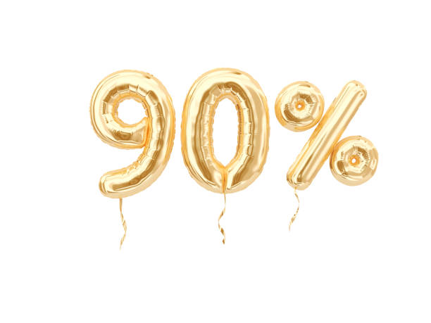 90 % - number 90 stock photos and pictures