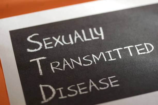 STD shot of word std sexually transmitted disease stock pictures, royalty-free photos & images