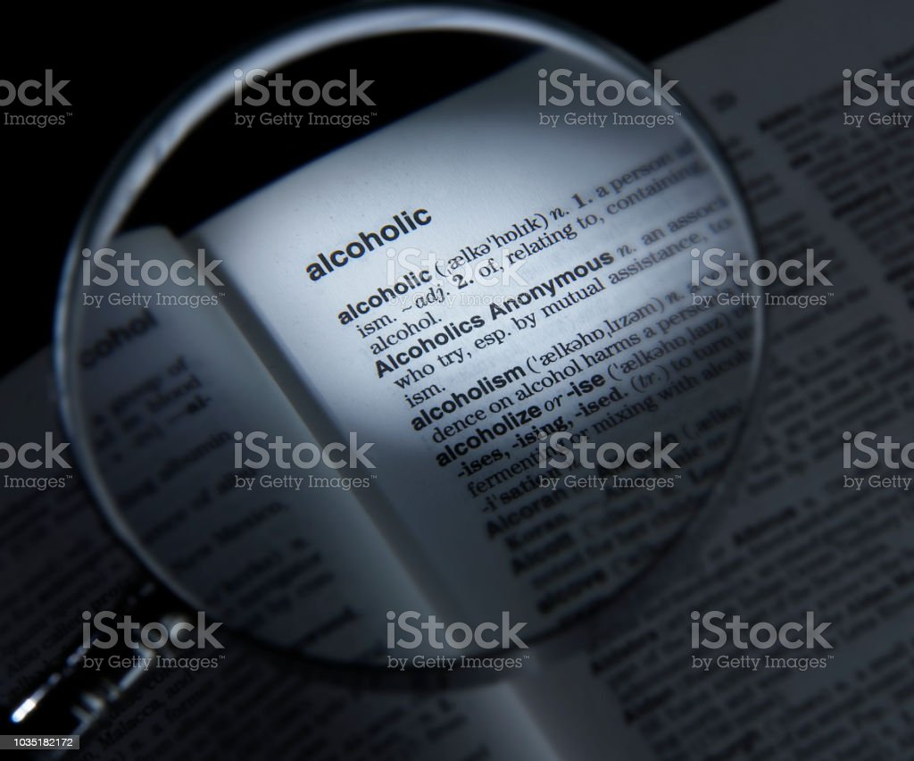 Magnifying Glass On Dictionary Page Showing Definition Of