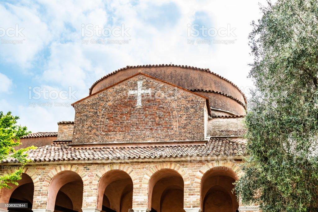 CHURCH  OF VENICE IN ITALY - foto stock
