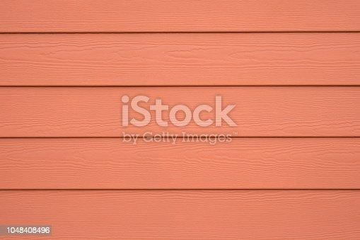 Orange Siding