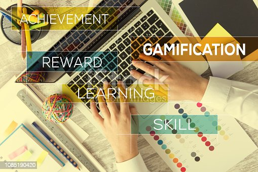 istock GAMIFICATION CONCEPT 1085190420