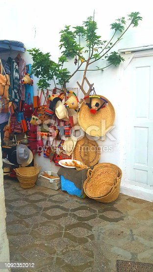 Traditionnals products in morocco