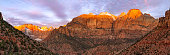 ZION NATIONAL PARK PANO