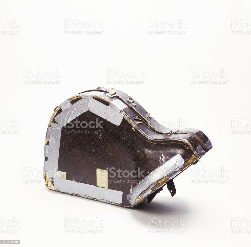 WORN OUT stock photo