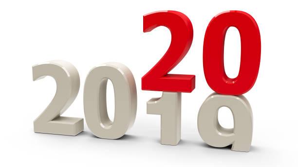 2019-2020 - foto de stock