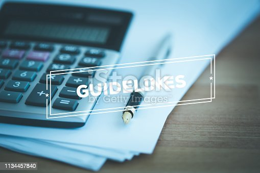 istock GUIDELINES CONCEPT 1134457840