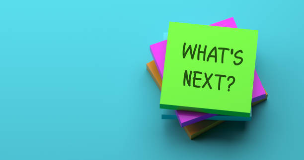 WHAT'S NEXT? WHAT'S NEXT? anticipation stock pictures, royalty-free photos & images