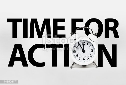 istock TIME FOR ACTION (Click for more) 1148508171