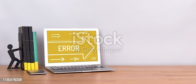 istock ERROR CONCEPT 1150476209