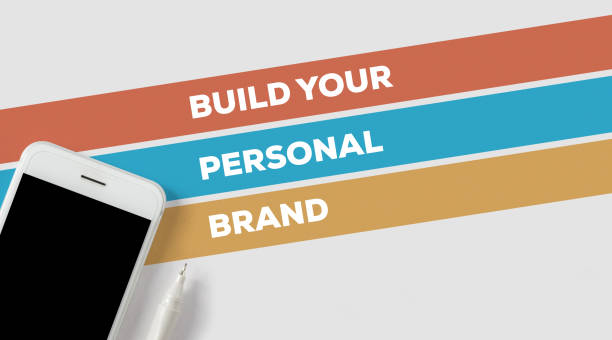 BUILD YOUR PERSONAL BRAND CONCEPT stock photo