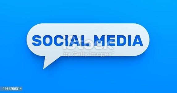 654055650 istock photo SOCIAL MEDIA 1164295314