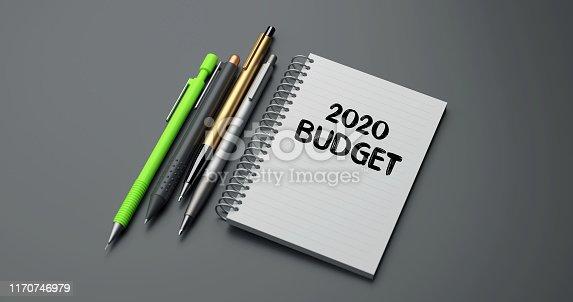 istock 2020 BUDGET 1170746979