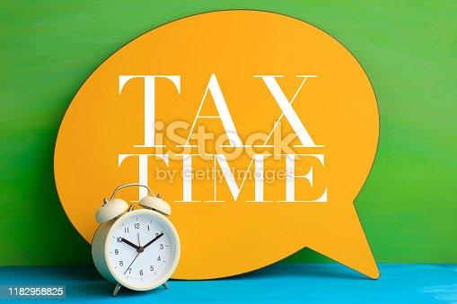 istock TAX TIME 1182958825