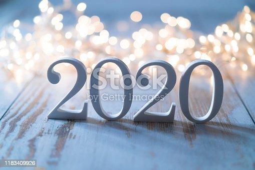 2020 and Christmas decoration