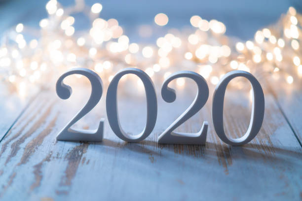 2020 2020 and Christmas decoration new year's eve stock pictures, royalty-free photos & images