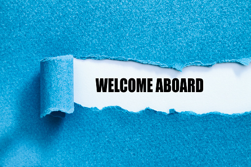 Welcome Aboard Stock Photo - Download Image Now
