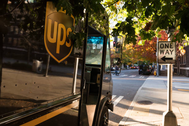 UPS stock photo