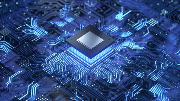 CPU Central Computer Processors CPU concept. 3d rendering,conceptual image. circuit board stock pictures, royalty-free photos & images