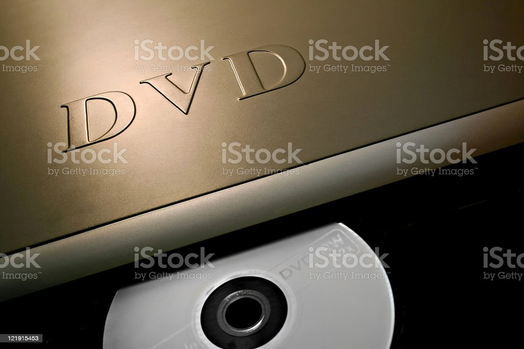 DVD royalty-free stock photo