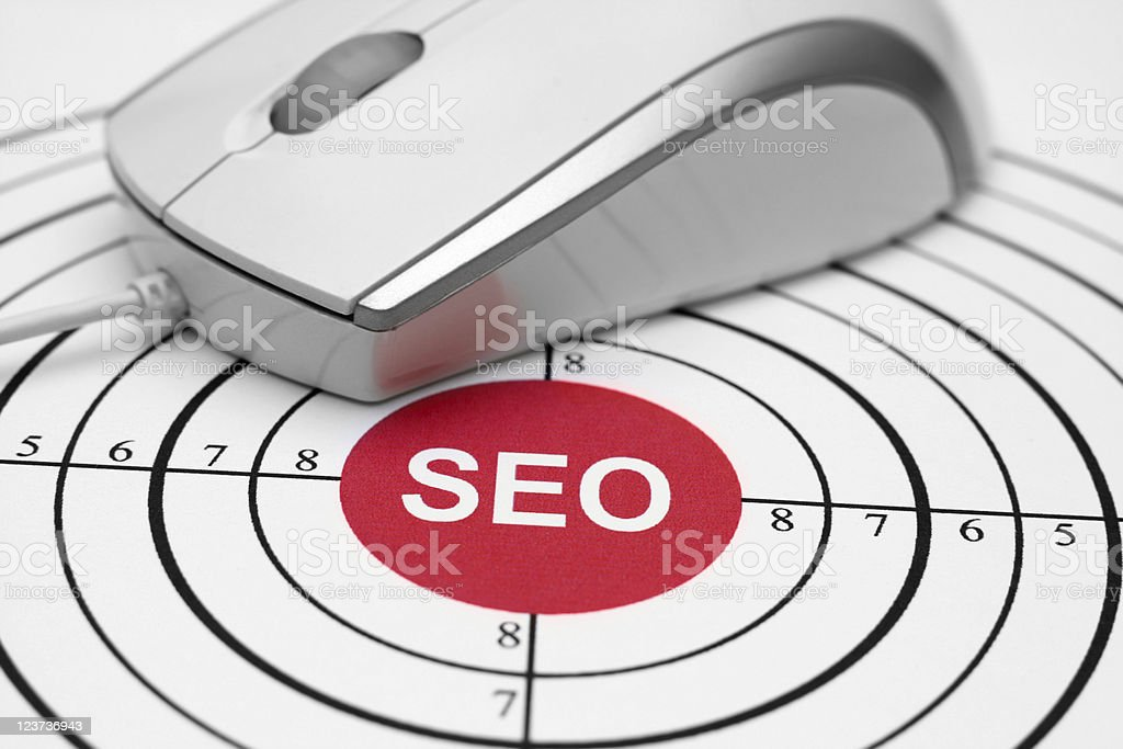 SEO royalty-free stock photo
