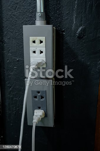 The plug that is being used.