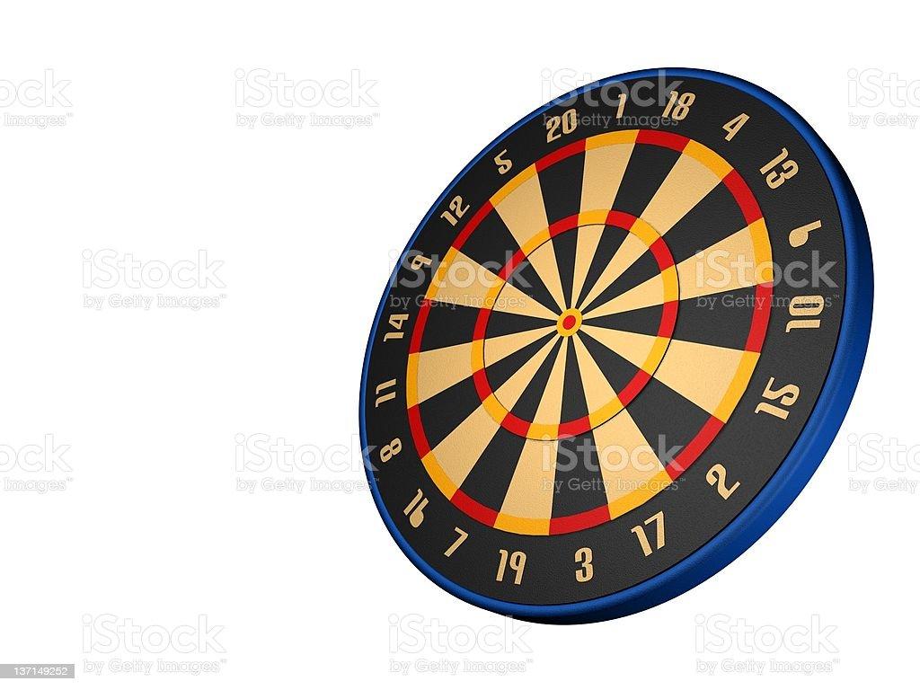 DARTS GAME BOARD royalty-free stock photo