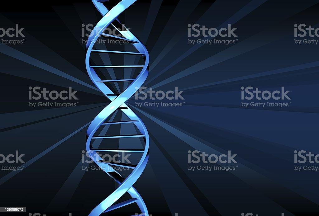 DNA  (double helix) stock photo