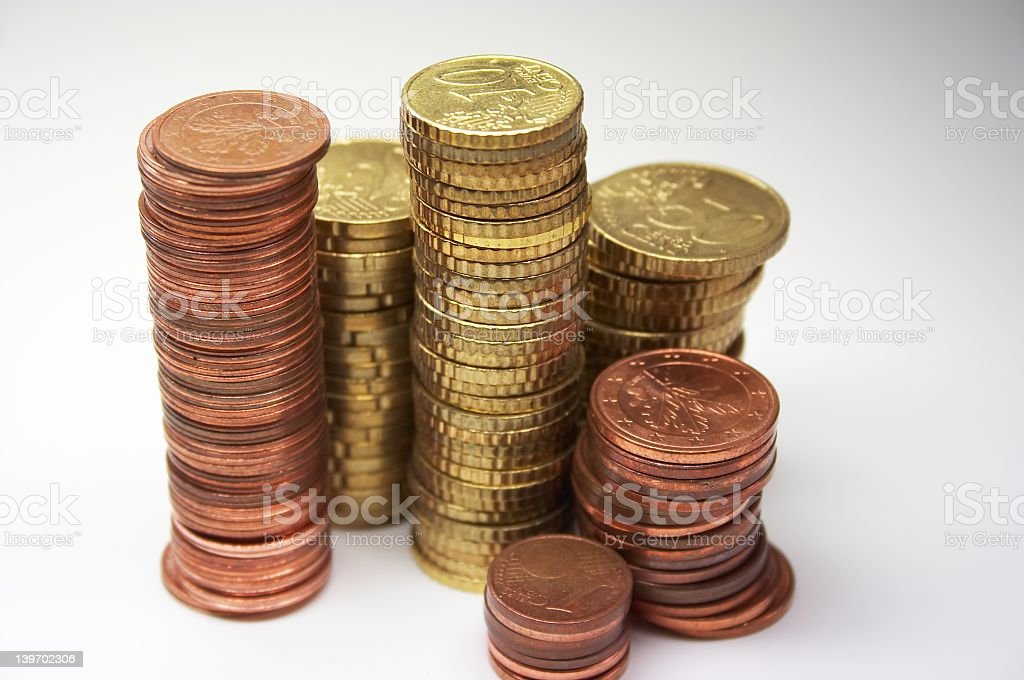 EURO - 6 royalty-free stock photo